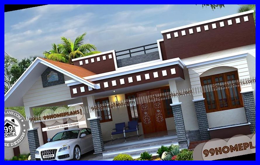 Simple One Story House Designs 90 South Indian House Design Plans 31 Best Modern House Des Best Modern House Design Indian Home Design Low Cost House Plans