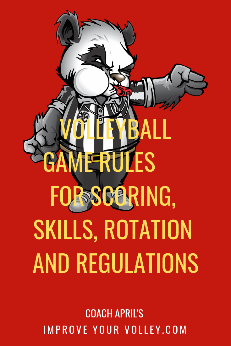 Volleyball Game Rules Serving Score Skill Rotation And Regulations Volleyball Rules Volleyball Court Size Volleyball Net Height