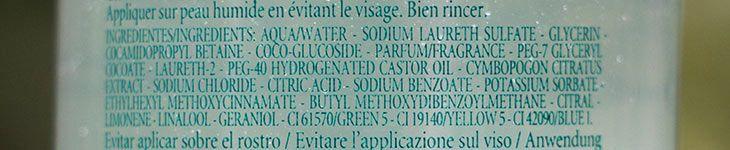 Sabonete Líquido Capim Limão L'Occitane au Brésil