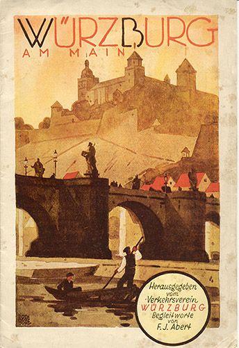 Würzburg am Main, circa 1929 / Roth