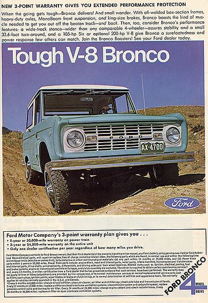 Ford Bronco 1967 A Beautiful Thing Ford Bronco Early Bronco