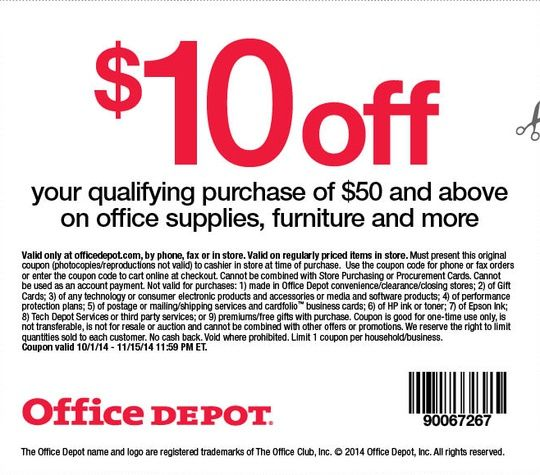 Office Max Coupon 10 Off 50 Groupon Free Printable Coupons Target Coupons Printable Coupons