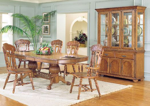 Give Your Dining Room An Amazing Look With Oak Dining Room Interesting Dining Room Chairs Oak Decorating Design