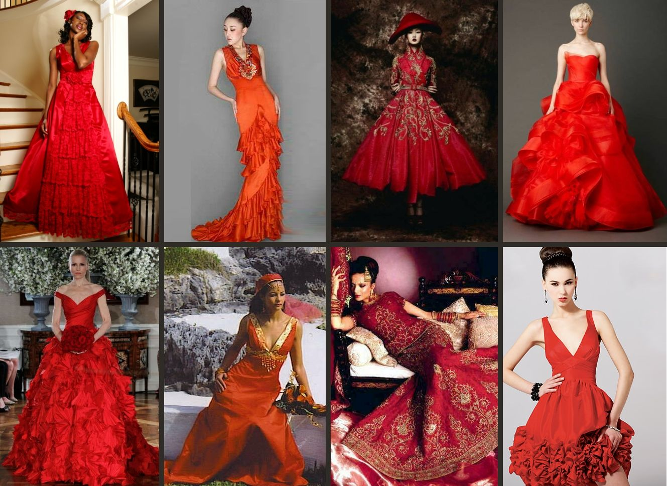 And the bride worered red wedding pinterest red wedding