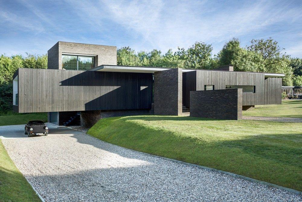The Black House, maison contemporaine dans le Kent en Angleterre par - Plan De Construction D Une Maison