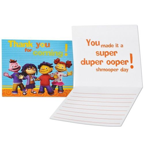 Sid The Science Kid Thank You Notes 8 From Pbs Kids