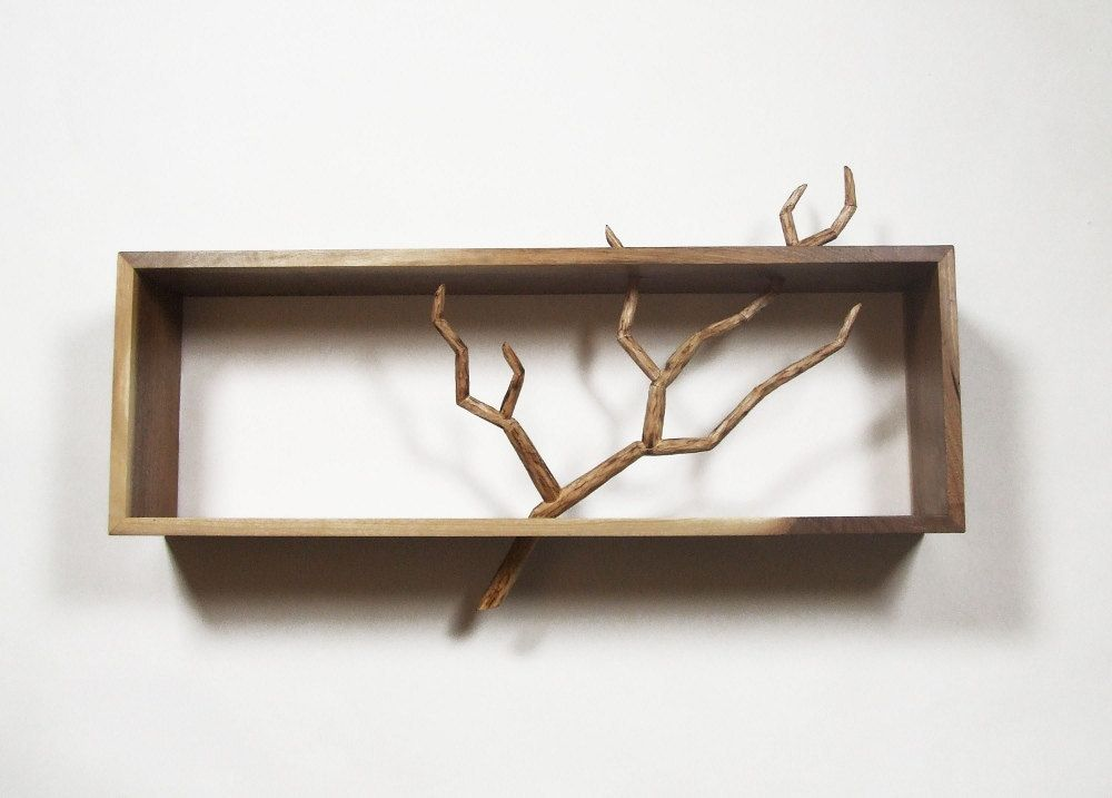 Carved Branch Cabinet