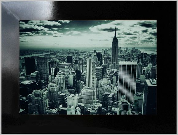 Quadro decorativo new york nigth