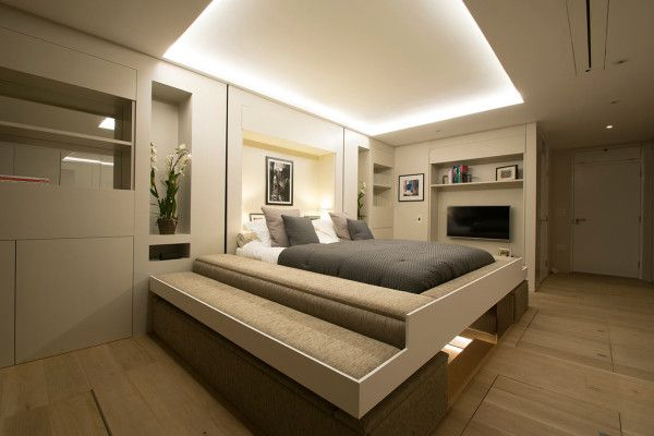 Yo Home Is A Convertible Apartment Concept Home Two Bedroom House Cool Apartments
