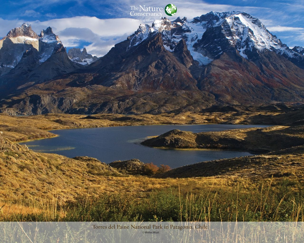 Torres Del Paine National Park Patagonia Chile Nature Travel Spot Nature Conservation