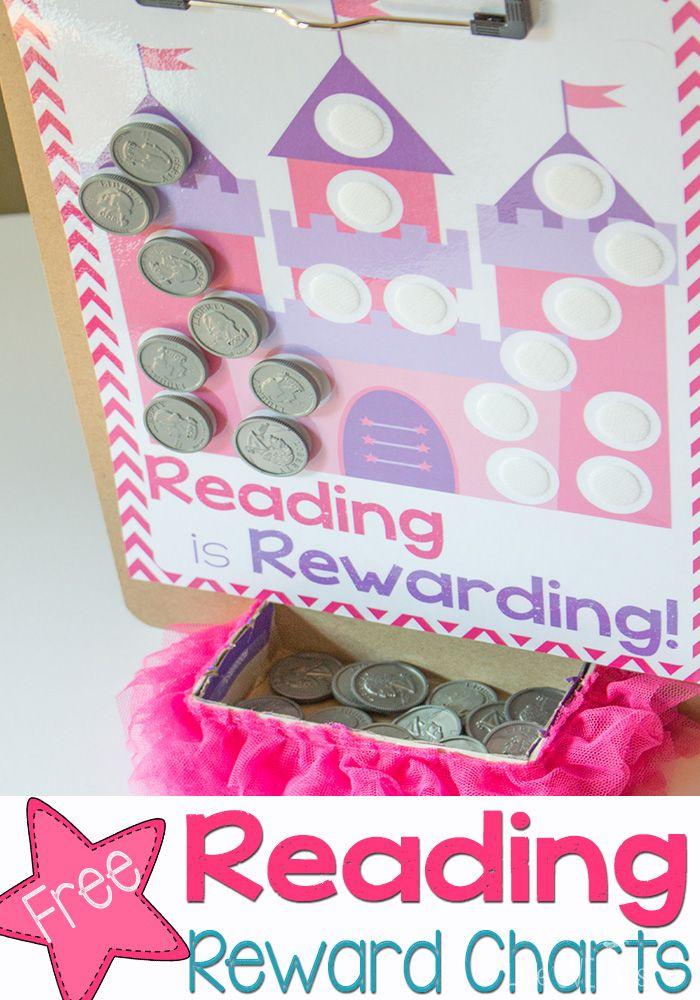 reward chart printables