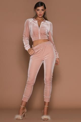 Women/'s Striped Gold Velvet Tracksuit Set Tops+Pants Suit Sweatshirt Hoodies