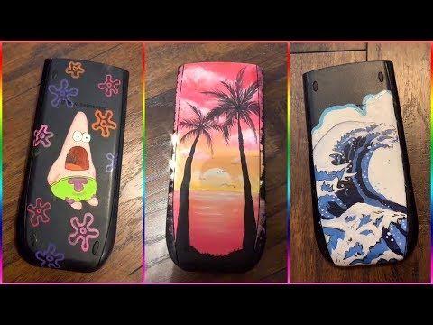 The Best Tik Tok Painting On Calculators Compilation 7 Youtube Spongebob Painting Mini Canvas Art Diy Art Painting