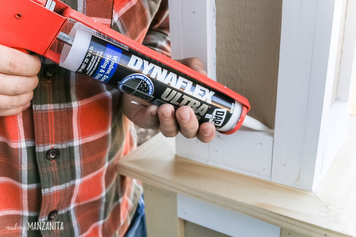 Seal All Joints And Nail Holes With Dynaflex Ultra Since This Is