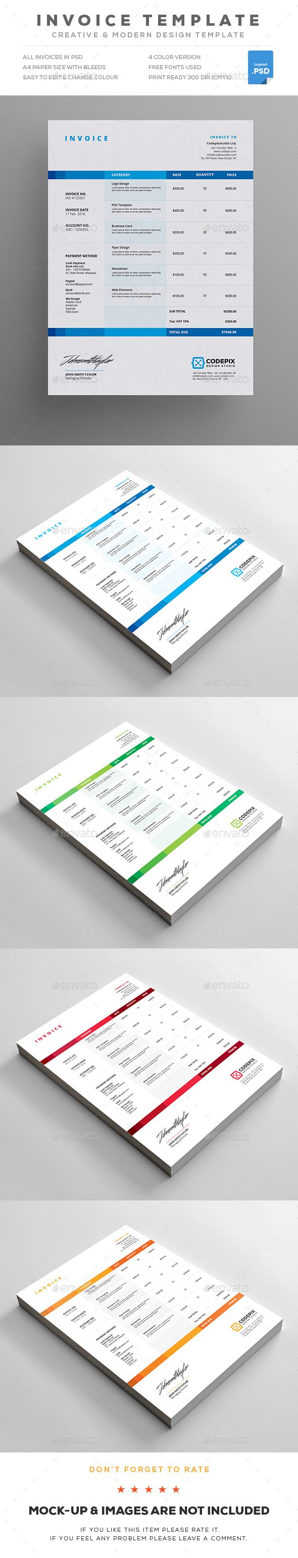 sample invoice for services rendered template example agenda templatesample best images about proposal