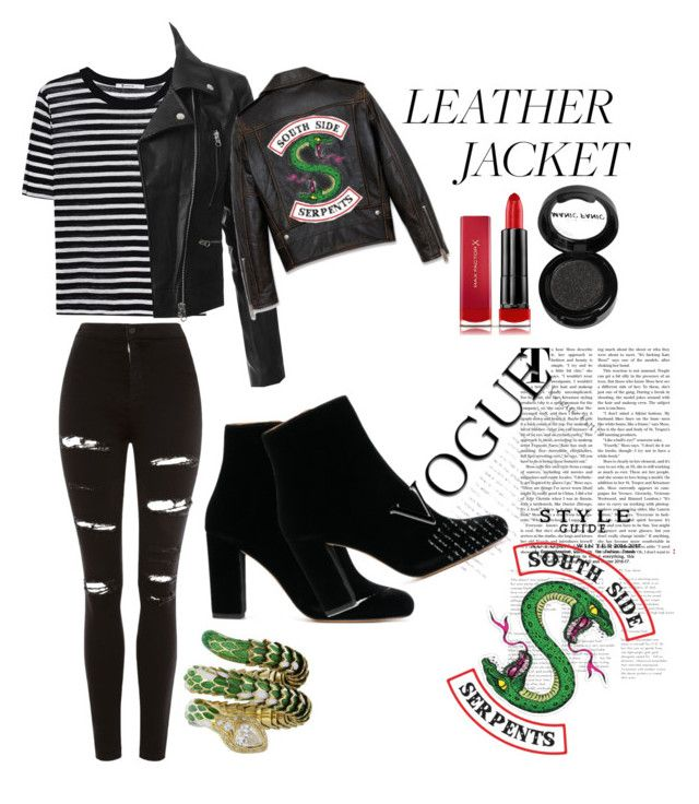 """""""~Southside Serpents Leather Jacket~"""" by immarealunicorn ..."""