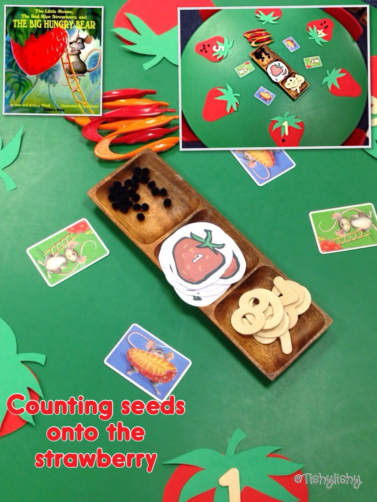 Counting Seeds On The Strawberry Fmc And Number Activity