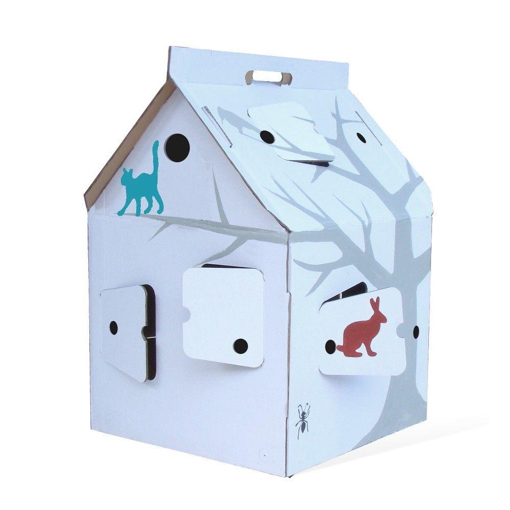 decoration maison en carton