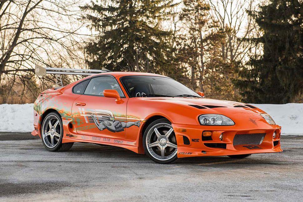 1993 - Toyota Supra - Ex Paul Walker (RIP).