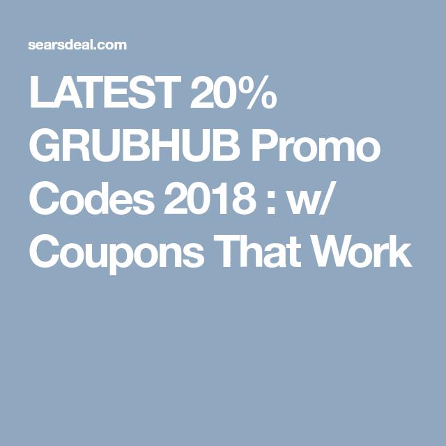 101 Free W Grubhub Promo Codes Reddit 2020 January 2020 Promo Codes Coding Promo Codes Coupon