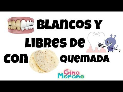 Dientes blancos y libres de caries con tortilla quemada (Carbón activo, Carbón activado) - YouTube