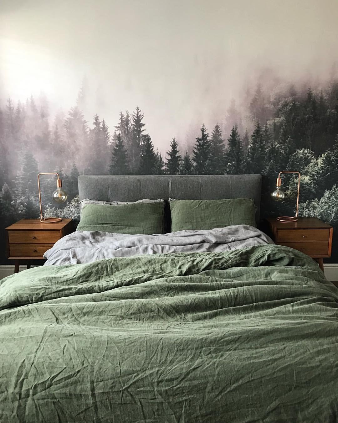natural bedroom decor forests  natürliche schlafzimmer dekor wälder natural bedroom decor forests  bedroom decor Country White bedroom decor Gray bedroom decor