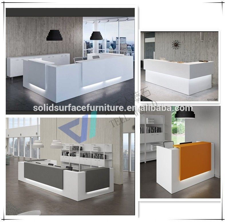 Custom Modern Beauty Salon Reception Deskoffice Front Desk