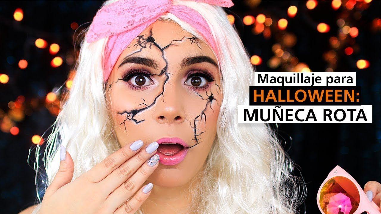 Tutorial Maquillaje para Halloween de Mueca rota Jimena Aguilar
