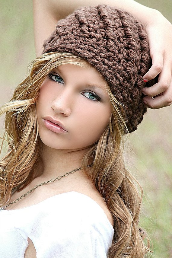 c415f8917183f Brown Beanie Hat Beanies Chunky Hat for Women Teen Girl Fall Fashion Winter  Fashion Swirl Hat Cute B
