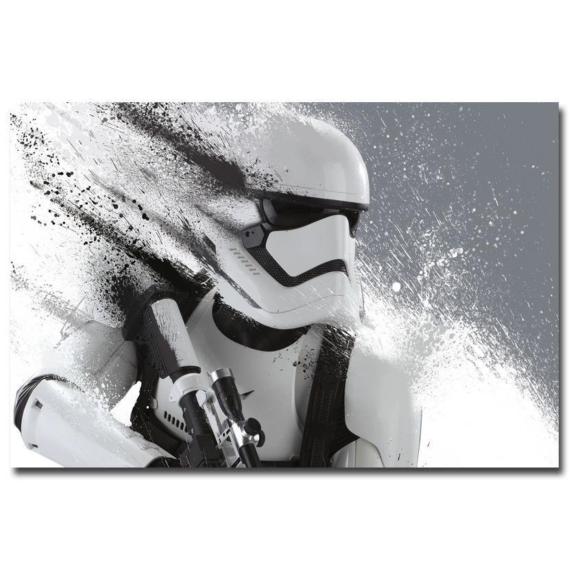 Star Trooper Canvas Prints [NO FRAME] Star wars