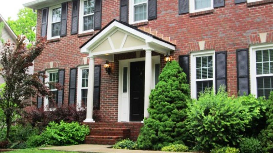 Add A Portico To Your Front Door For Class And Functionality