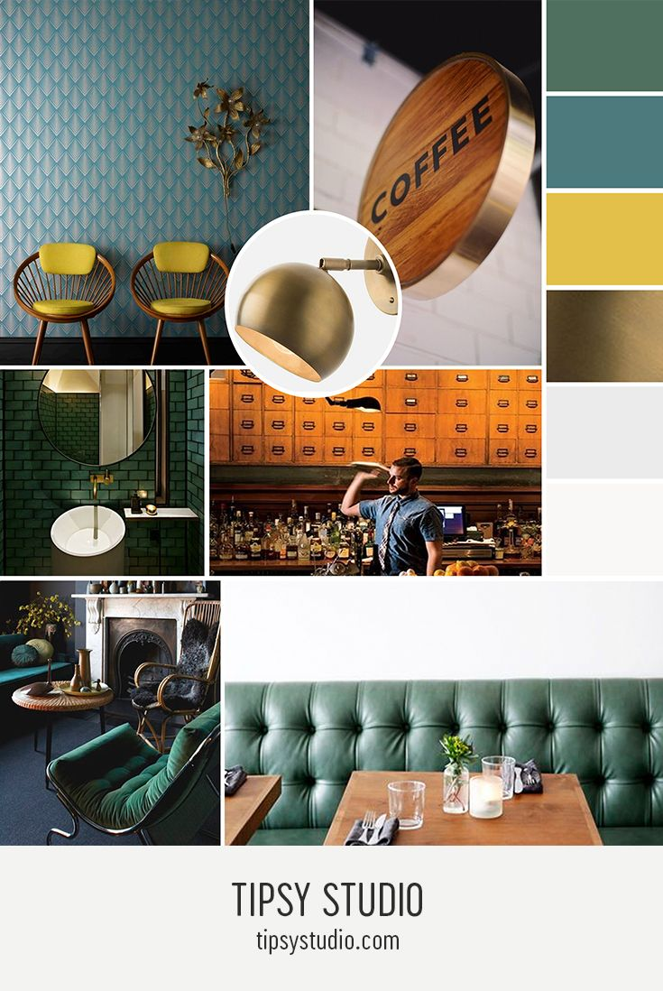 A Color Palette For Those Who Love All Things Mid Century Modern