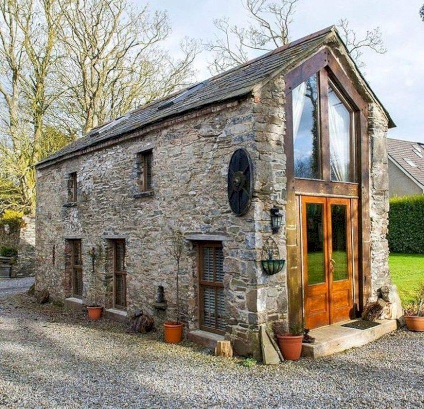 46 Inspiring Tiny Home Exterior Decoration Ideas For Spring Current #exteriordecor