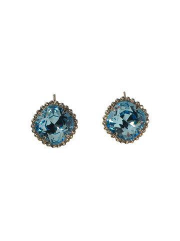 Medium-Sized Crystal French Wire Earring in Ocean - Sorrelli