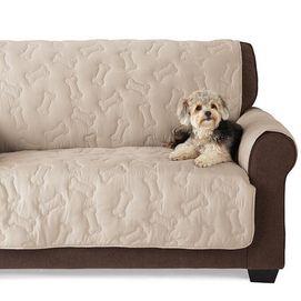 Dog Couch Covers Bone Print Sofa
