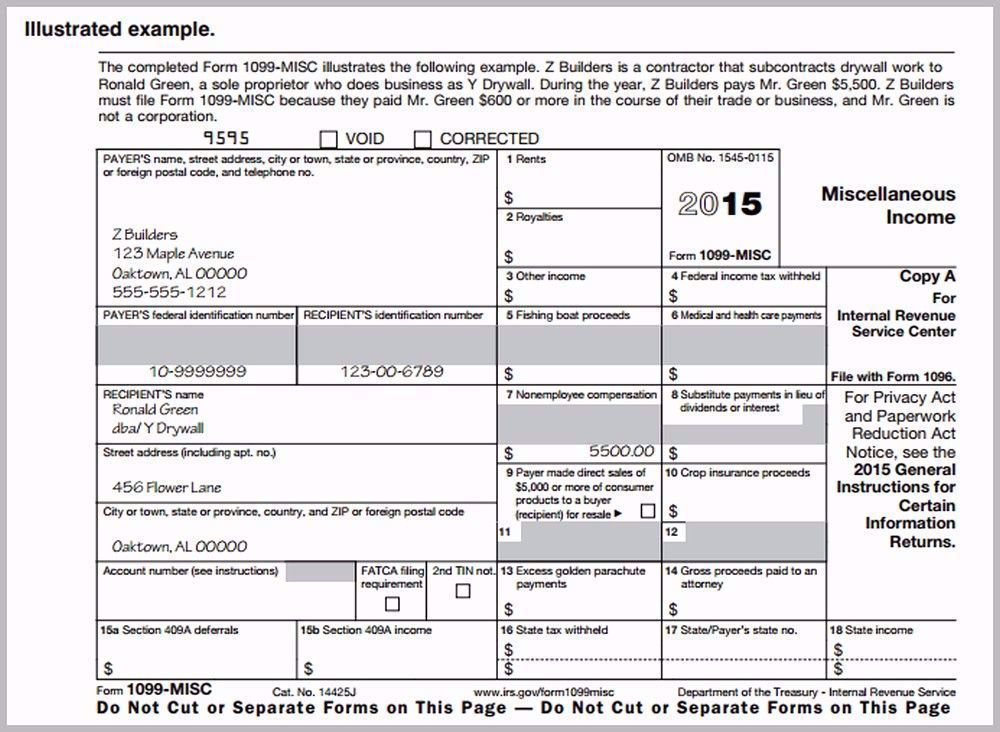 1099 Employee Form Printable Best Of 1099 Form Required By Law