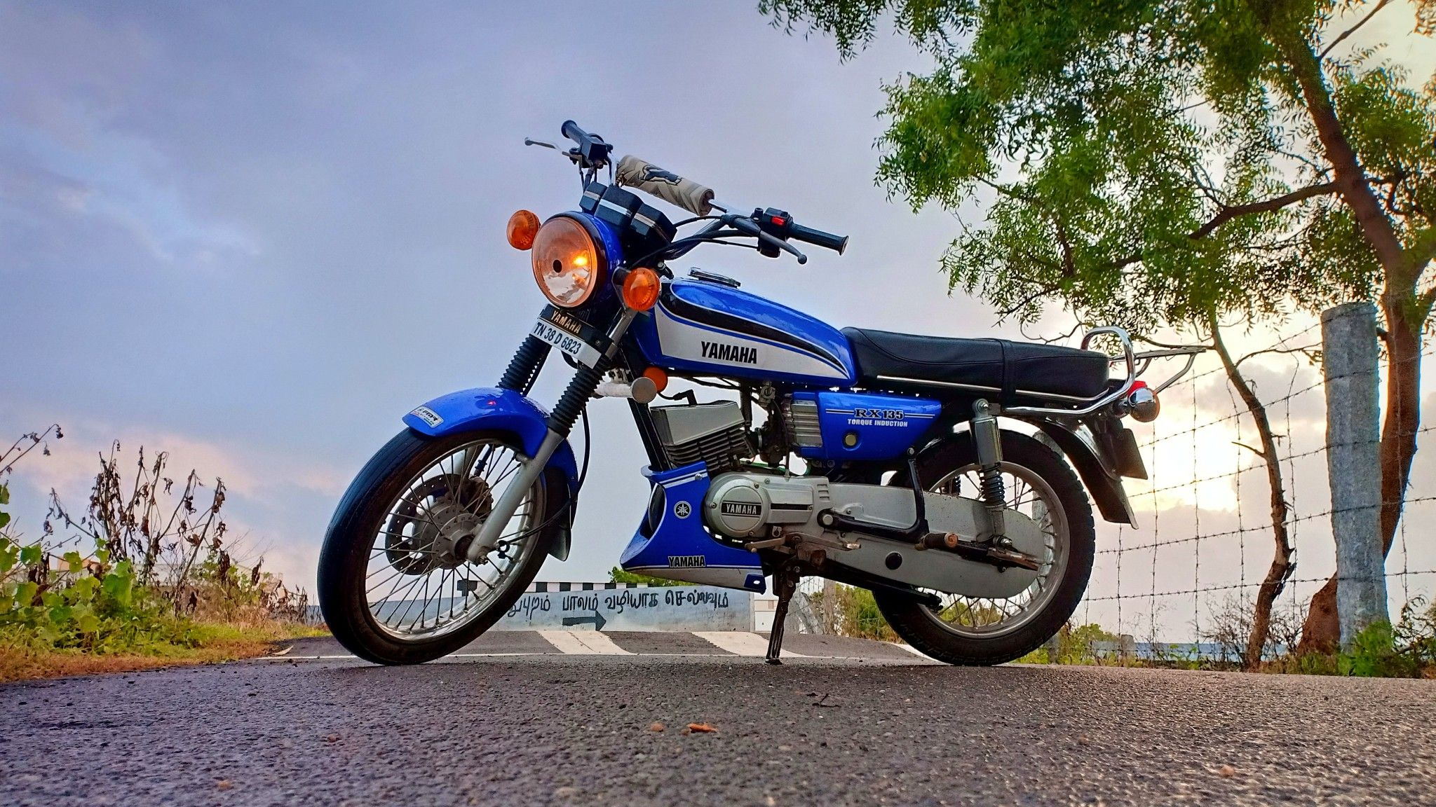 Yamaha Rx135 4speed Customized Fmr Pollachi Tamilnadu Yamaha Rx100