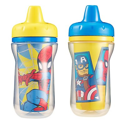 NUK 2 Piece Shimmer Shine Insulated Hard Spout Cup 9 Ounce