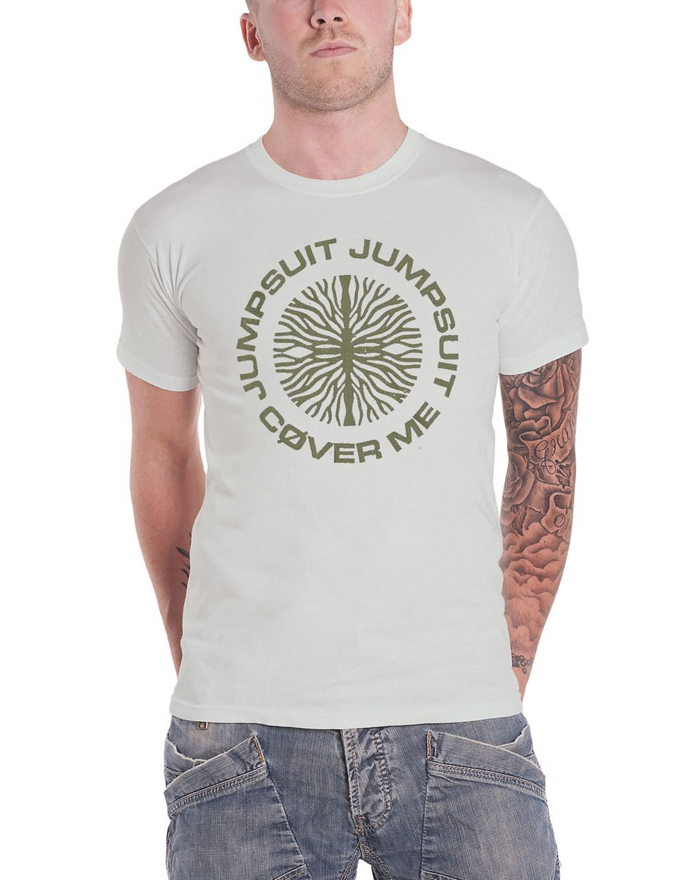 3317da239 Twenty One Pilots T Shirt Trench Jumpsuit seal Band Logo Mens Grey - Paradiso  Clothing