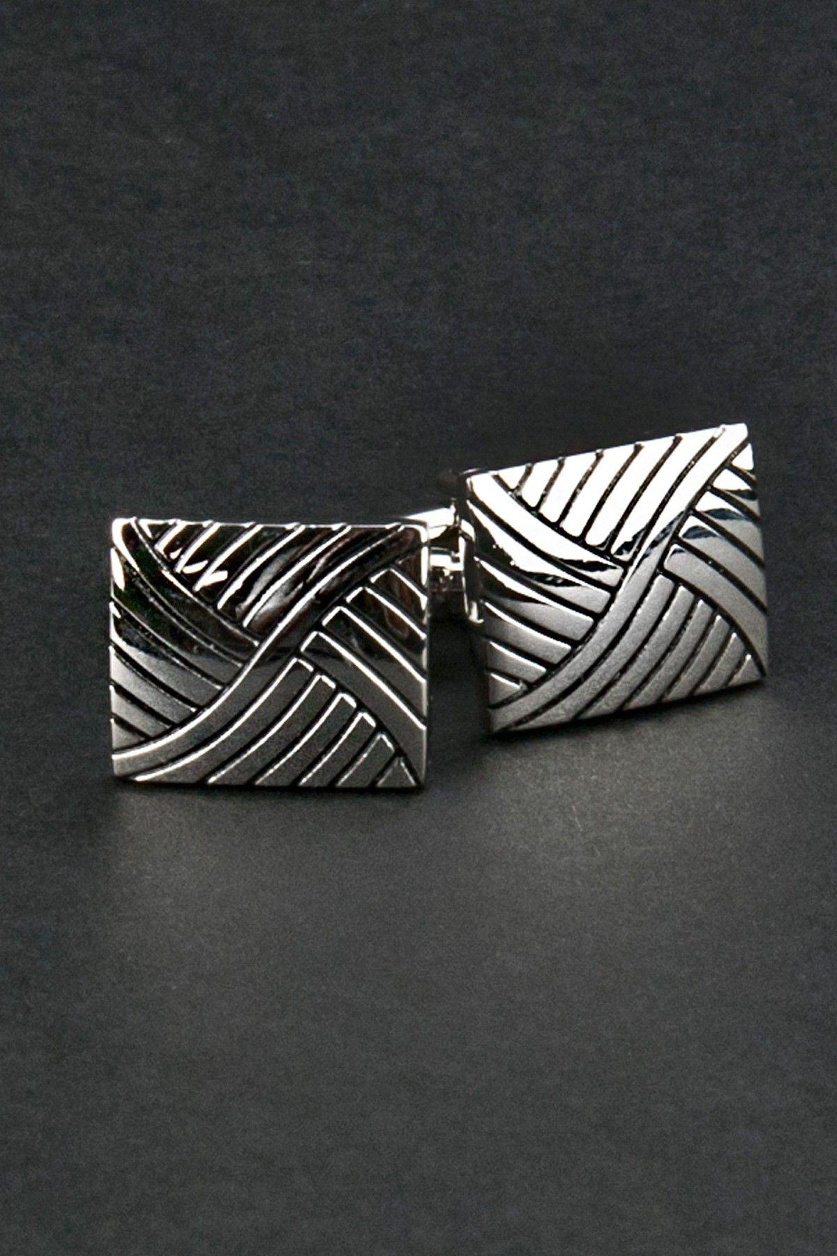 Weave Cufflink Set  CufflinkMen #Bags #Accessories