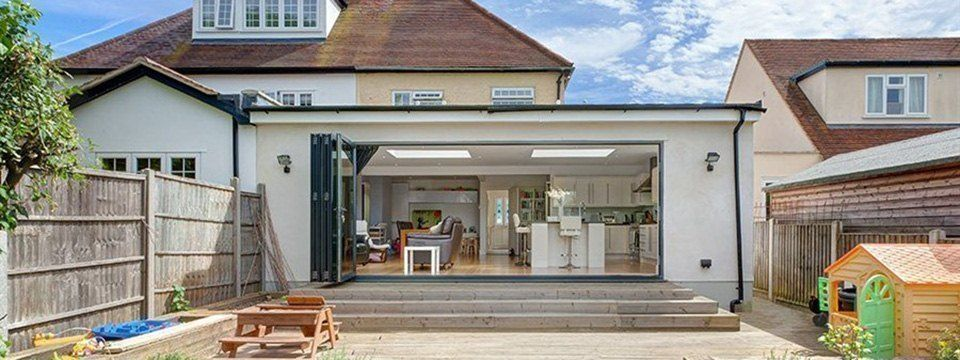 Pitched Roof Rear Extension Google Search Single Storey Extension