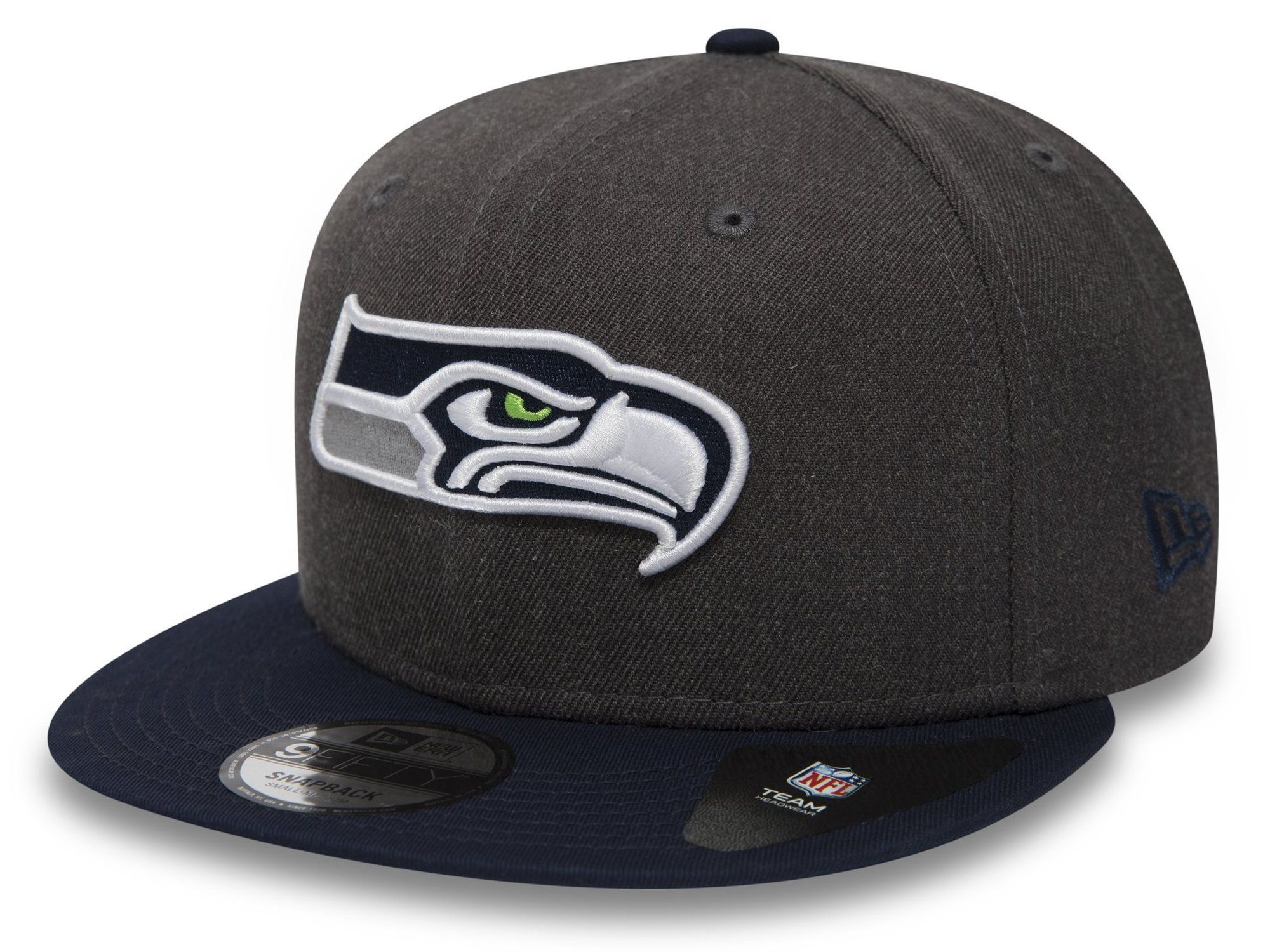 New Era Heather Essential 39thirty Mens Headwear Cap Seattle Seahawks