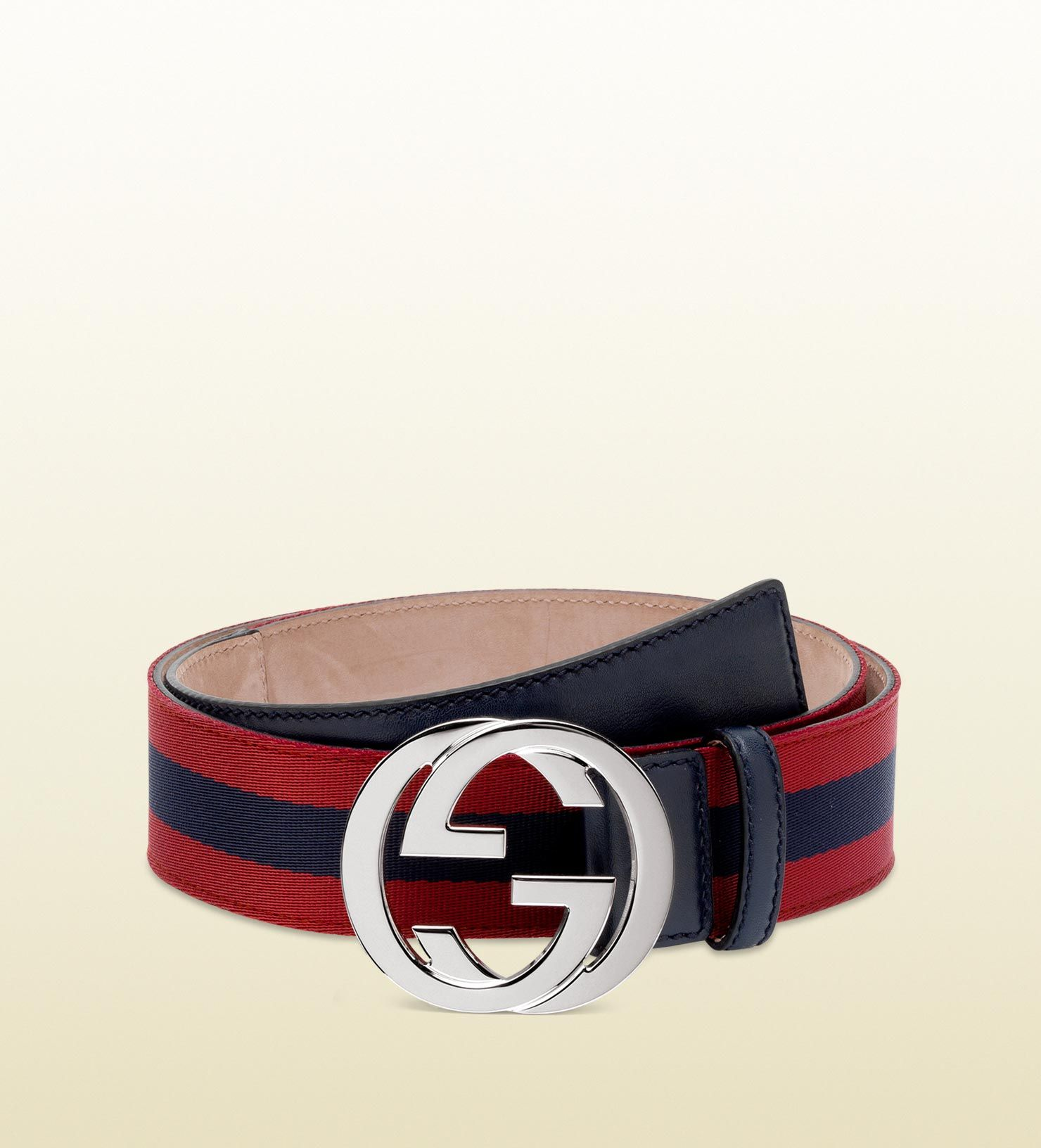 bc7394ec Gucci men belt in bordeaux blue bordeaux web fabric | fm | Gucci men ...