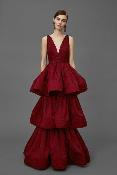 See every jaw-dropping dress from Marchesa's new Pre-Fall 2016 collection