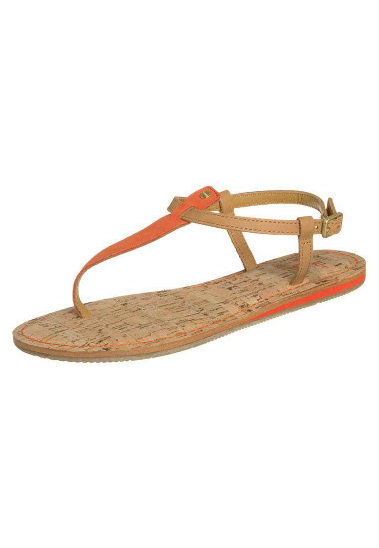 fa757493b Gant HAMPTON Flip flops brown