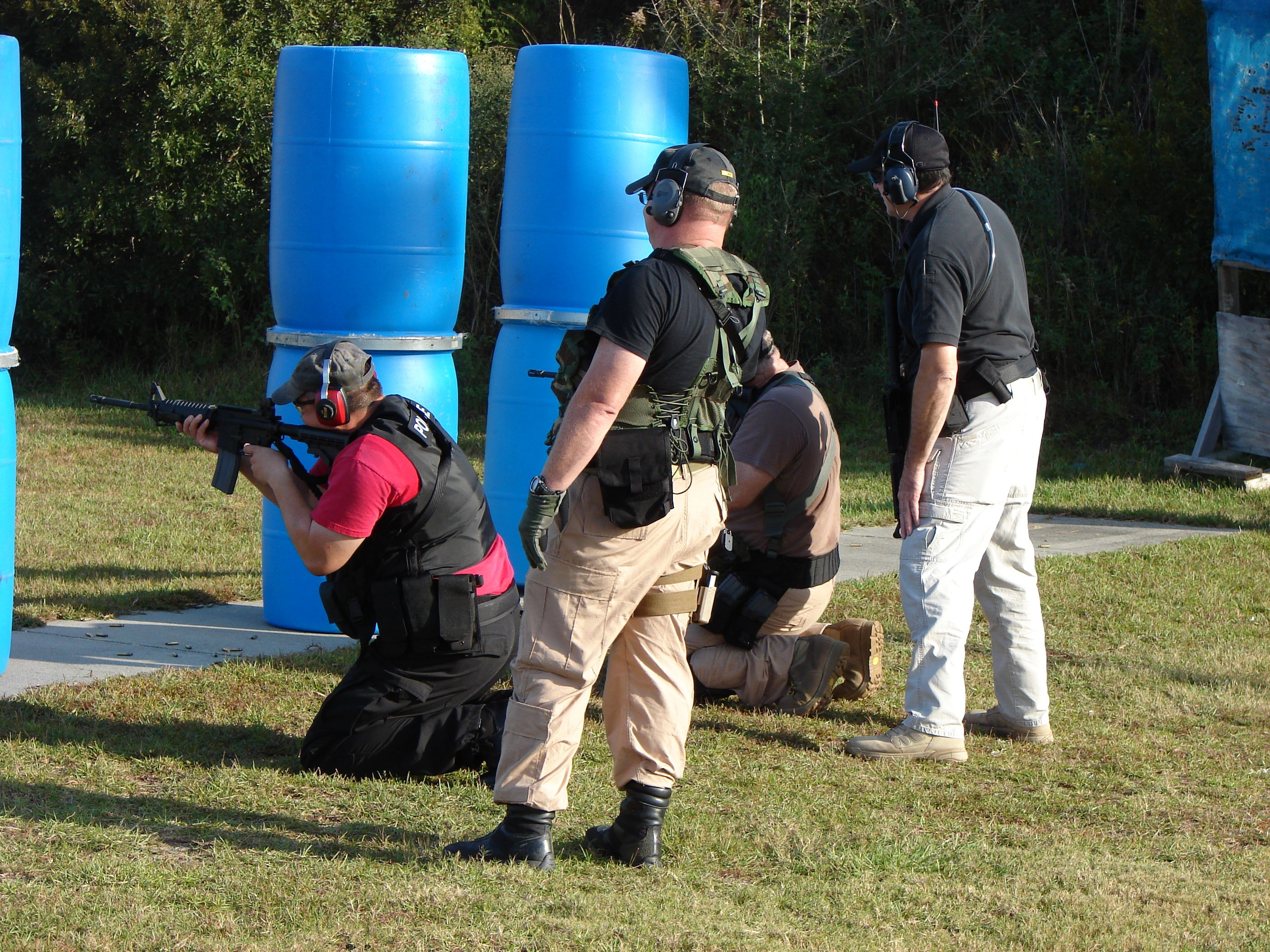 Shooting on the Move Firearms training, Central florida