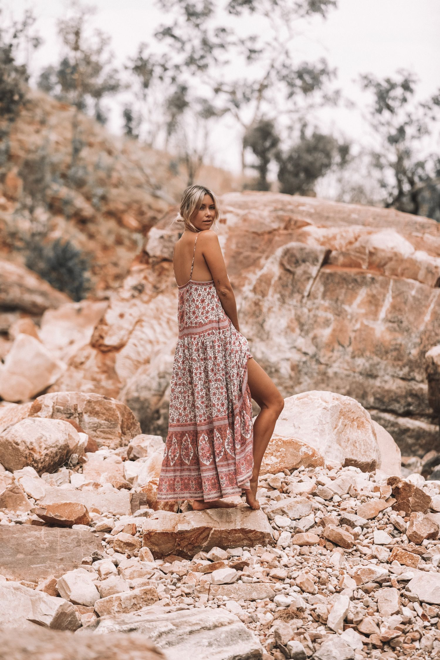 4fc3f94af39 Spell   The Gypsy Collective Jasmine Strappy Maxi Dress
