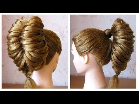 Tuto Coiffure Queue De Cheval Originale Et Simple Tresse Epi De Ble