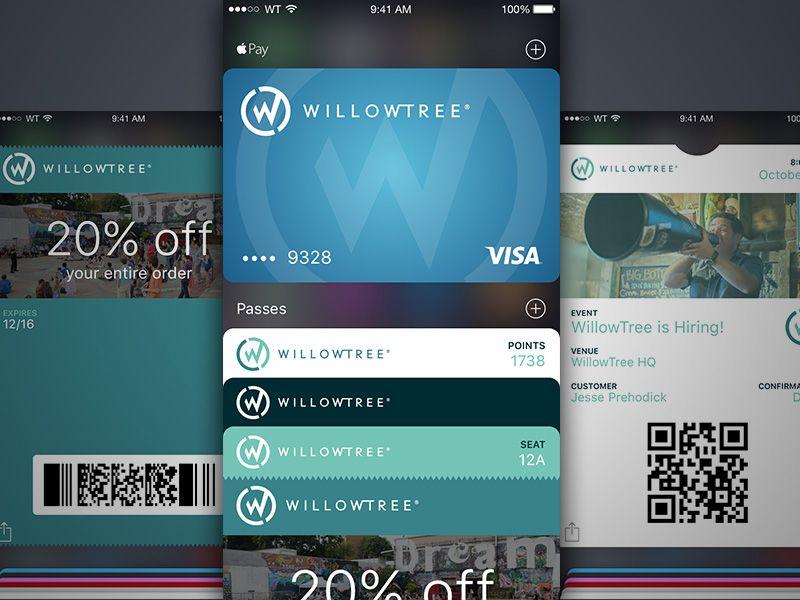 Apple Wallet UI Kit | Free Sketch App Resources | Mobile app