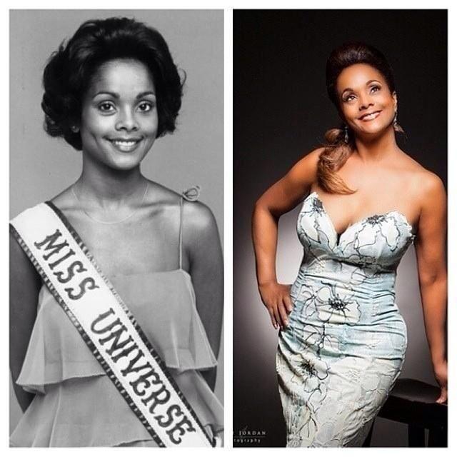 Fotos recientes de Miss Universo 1977, Janelle Comissiong..